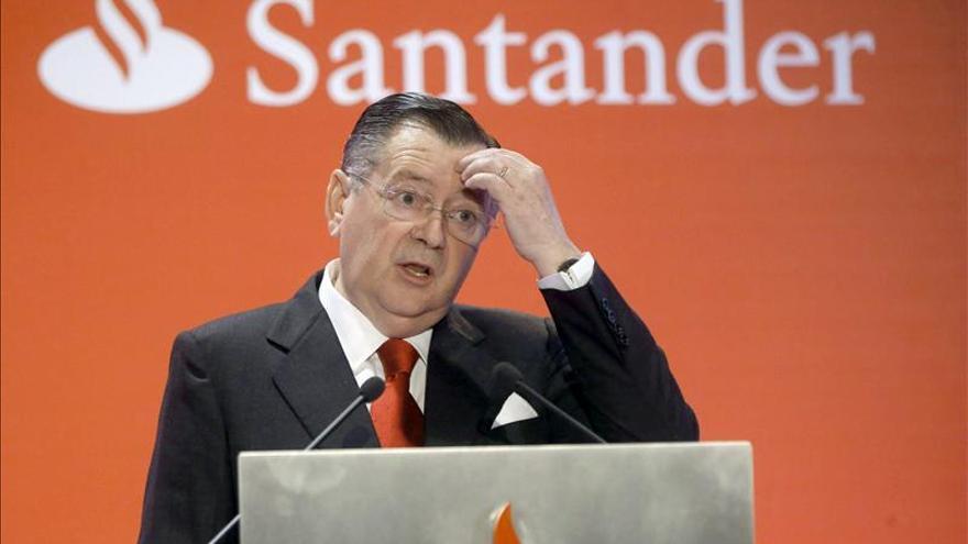 Alfredo Sáenz renuncia como consejero delegado del Grupo Santander
