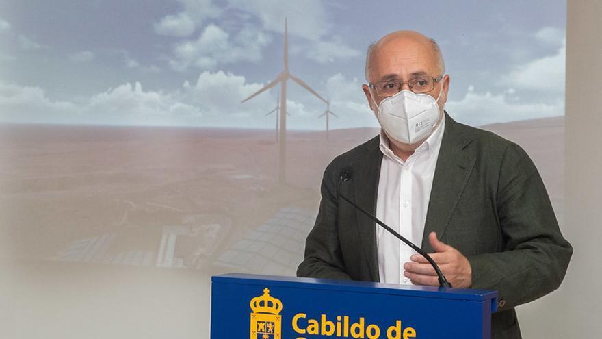 El Cabido de Gran Canaria invierte 66 millones en parques eólicos y fotovoltaicos para cubrir el 75% de su consumo energético