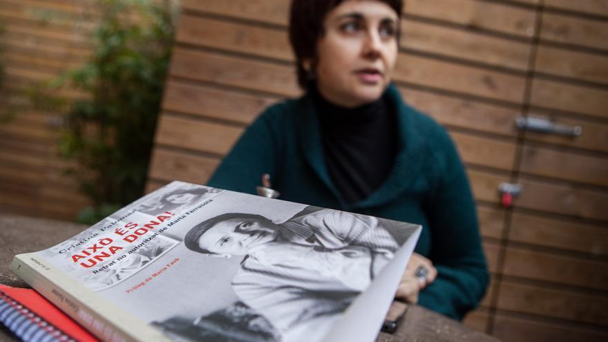 Cristina Palomar, autora de la biografía no autorizada de Marta Ferrusola 'Això és una dona!' /ENRIC CATALÀ
