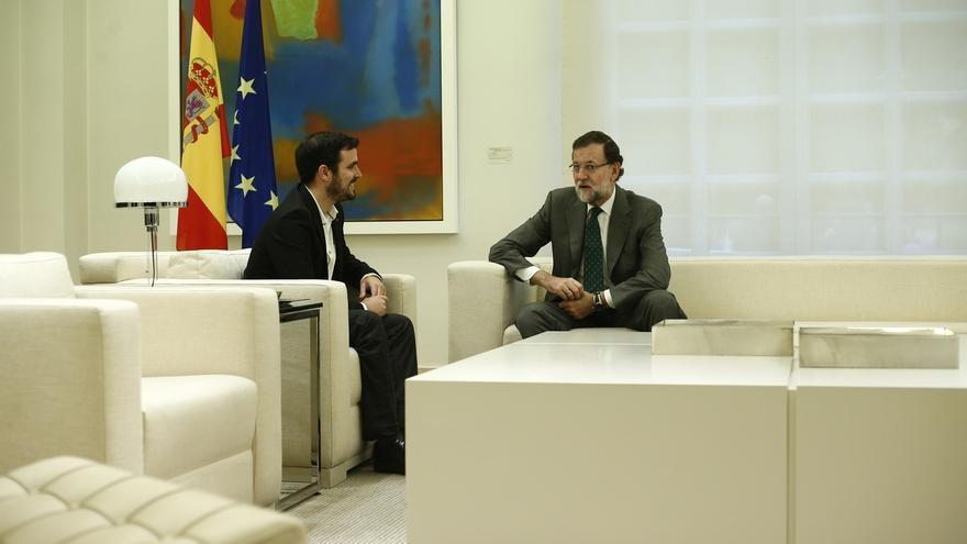Garzón insiste en su apuesta por un pacto de izquierdas tras la negativa de Rajoy a someterse a la investidura