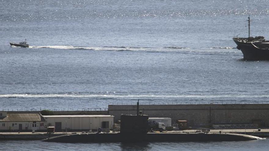 "El submarino nuclear británico ""HMS Triumph"" recala en Gibraltar"