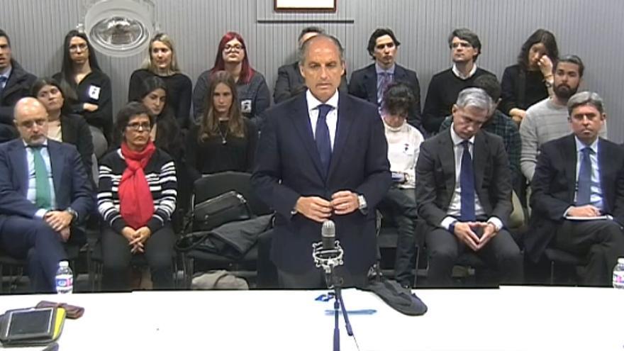 El expresident de la Generalitat Francisco Camps declara como testigo en la Audiencia Nacional por el caso Gürtel