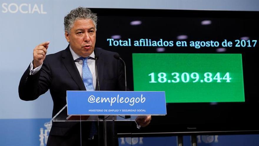 El gasto en pensiones sube un 3 % en septiembre y se sitúa en 8.807 millones