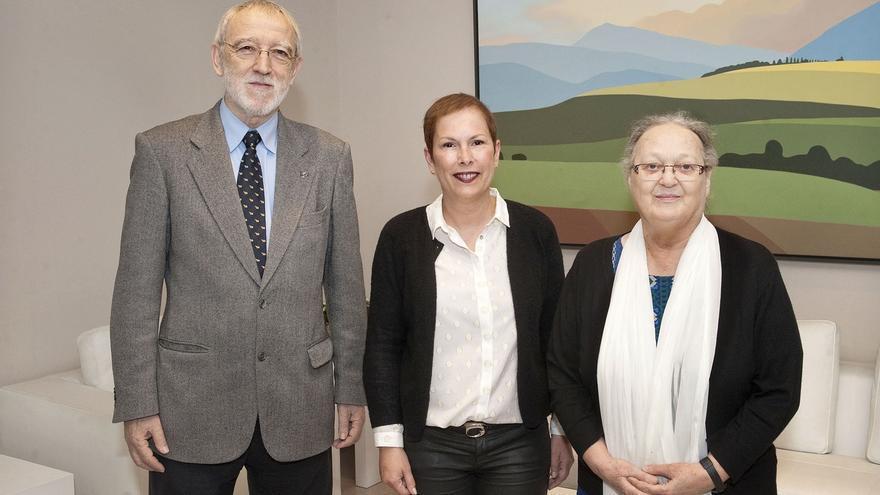 Barkos muestra su voluntad de seguir colaborando con la Fundación Vicente Ferrer