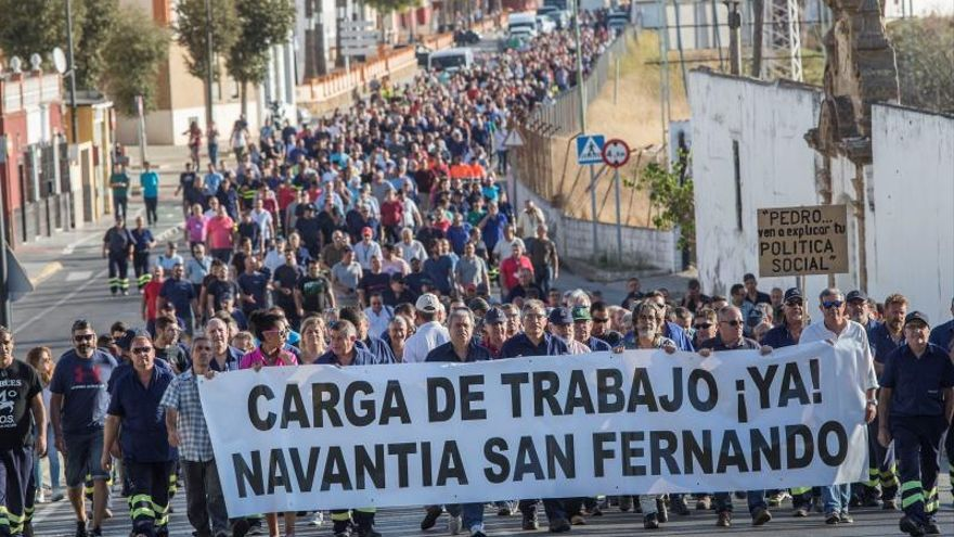 """La plantilla de Navantia defenderá """"con uñas y dientes"""" el contrato de corbetas"""