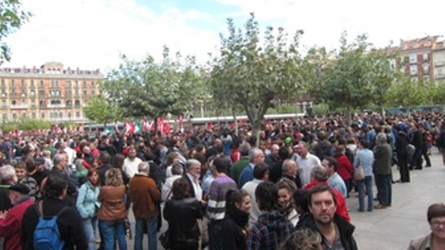 Manifestación con motivo de la huelga general del 26-S.