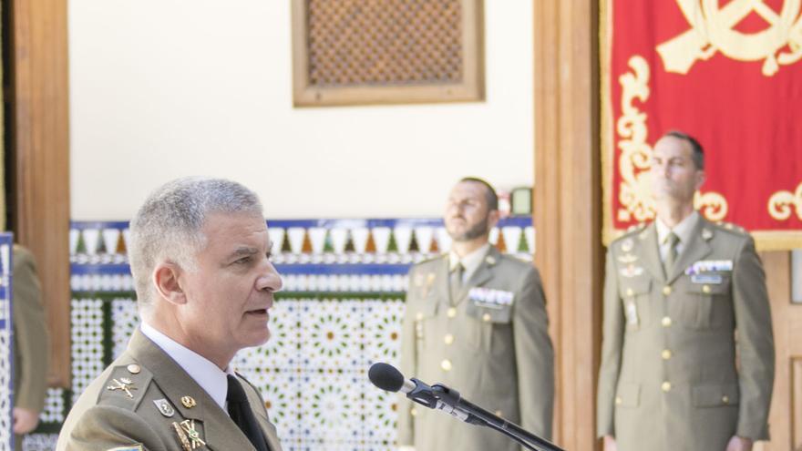 Fernando Maté toma posesión como nuevo jefe del Estado Mayor del Mando de Canarias.