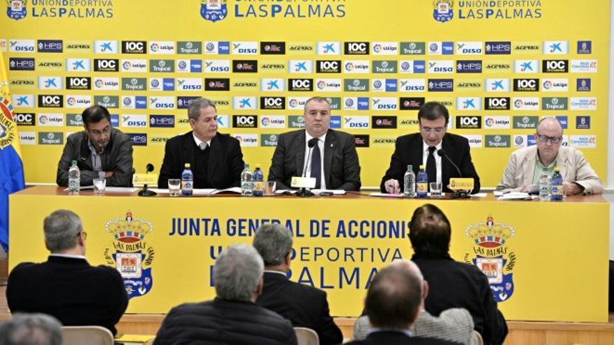Juntas Generales Ordinaria y Extraordinaria de accionistas de la UD las Palmas SAD