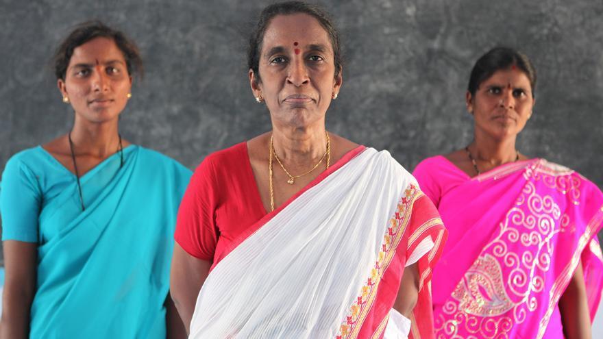 Mujeres indias / Fotografía: Josep Giralt
