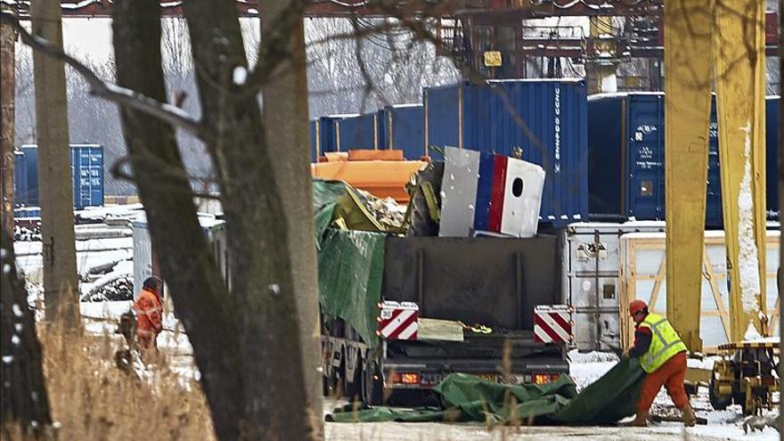 Localizados nuevos restos de las víctimas del avión que se estrelló en Ucrania