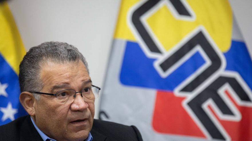 Rector electoral venezolano responde al chavismo que solo cumple con su deber