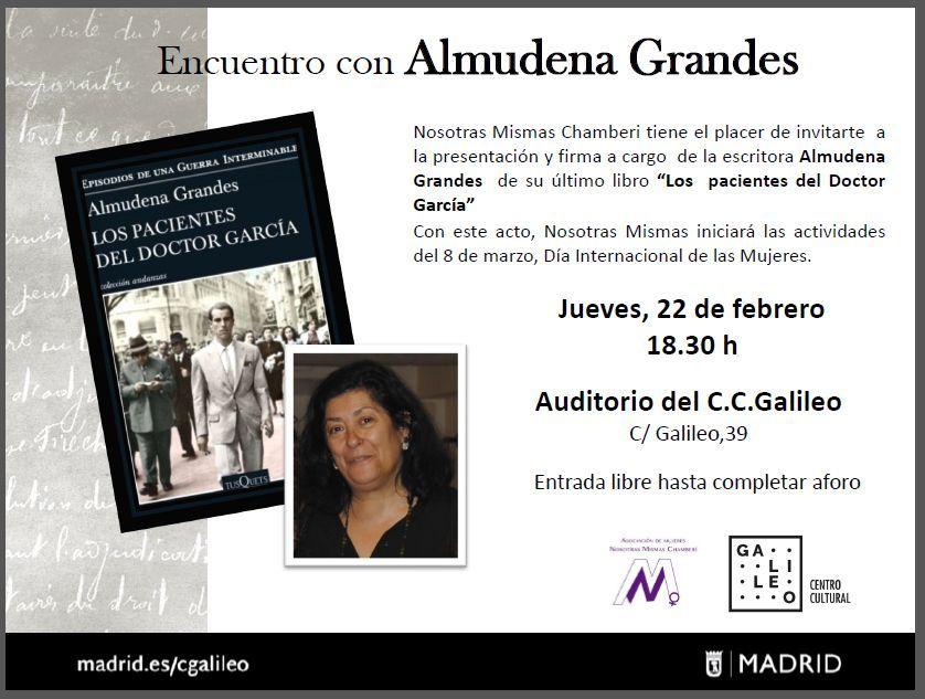 Encuentro con Almudena Grandes