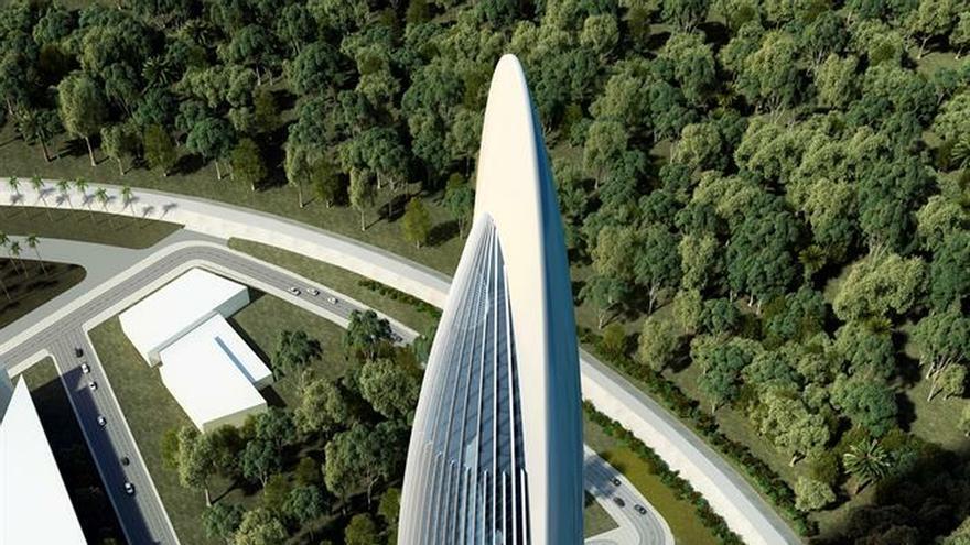 Rafael de la Hoz presentó en Rabat su futura Torre Mohamed VI de 250 metros