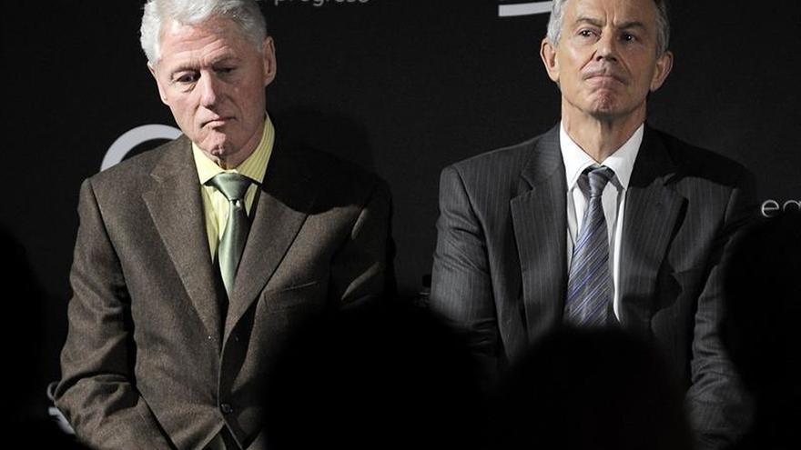 Bill Clinton y Tony Blair pedirán la permanencia británica en la UE