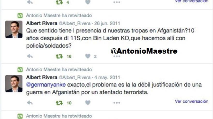 Tuits de Rivera