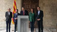 """Torra urge a Sánchez a """"fijar un día y una hora"""" para dialogar y rechaza la violencia"""
