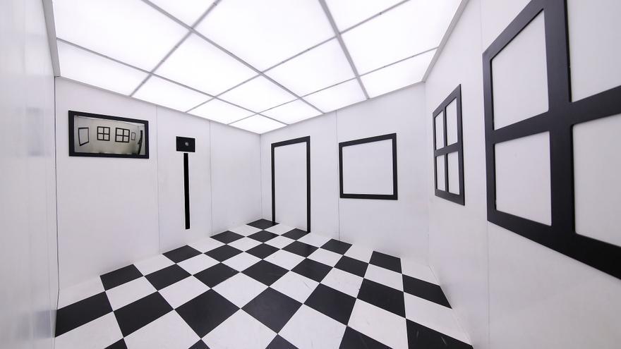 Parte de la exposición 'Ilusionismo, ¿magia o ciencia?'