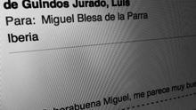 Correo de Luis de Guindos a Miguel Blesa (eldiario.es)