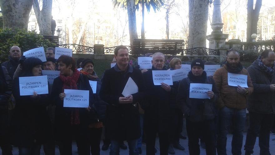 """Arraiz dará """"un paso unilateral"""" en favor de la paz en el juicio contra él el próximo 9 de mayo en el TSJPV"""