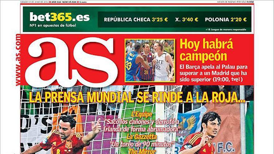 De las portadas del día (16/06/2012) #12