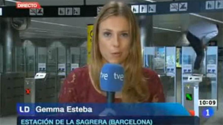 """Un 'simpa' en directo en el Metro y en """"Los Desayunos de TVE"""""""