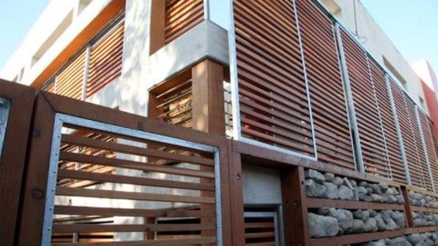 Una casa edificada con los parámetros Passivhaus