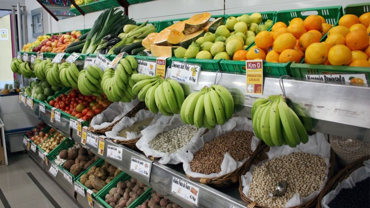 Productos de la Sociedad Cooperativa La Candelaria, en La Laguna