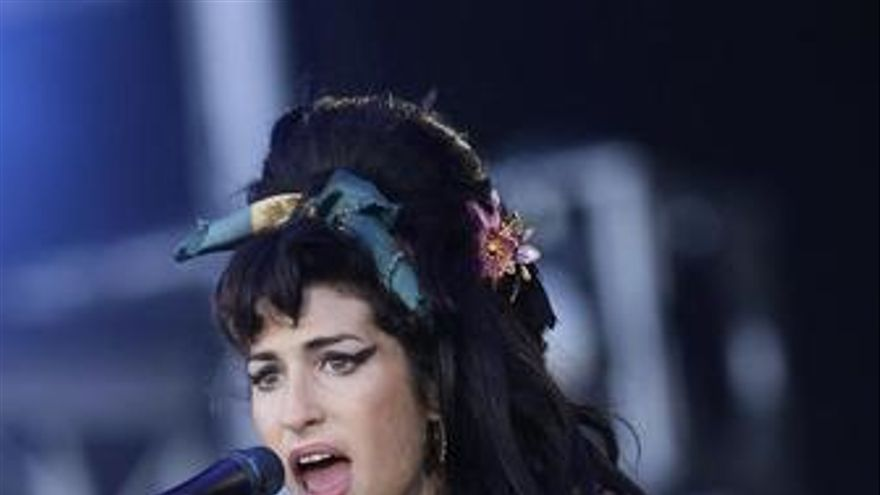 La cantante Amy Winehouse