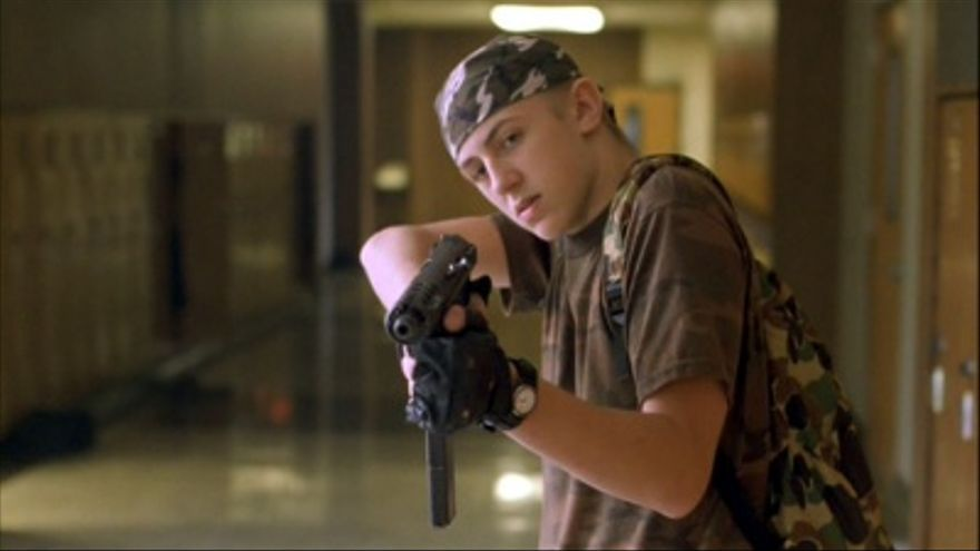 Fotograma de la película 'Elephant', basada en la matanza de Columbine