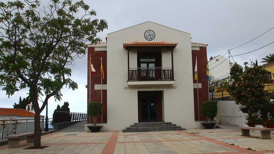 Fachada principal del Ayuntamiento de Alajeró