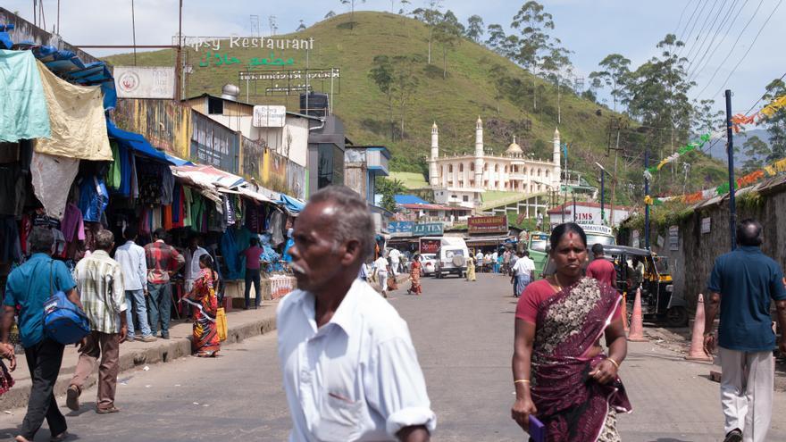 Imagen de archivo de un mercado en la ciudad de Munnar, en el estado de Kerala // Sebastian Kahnert