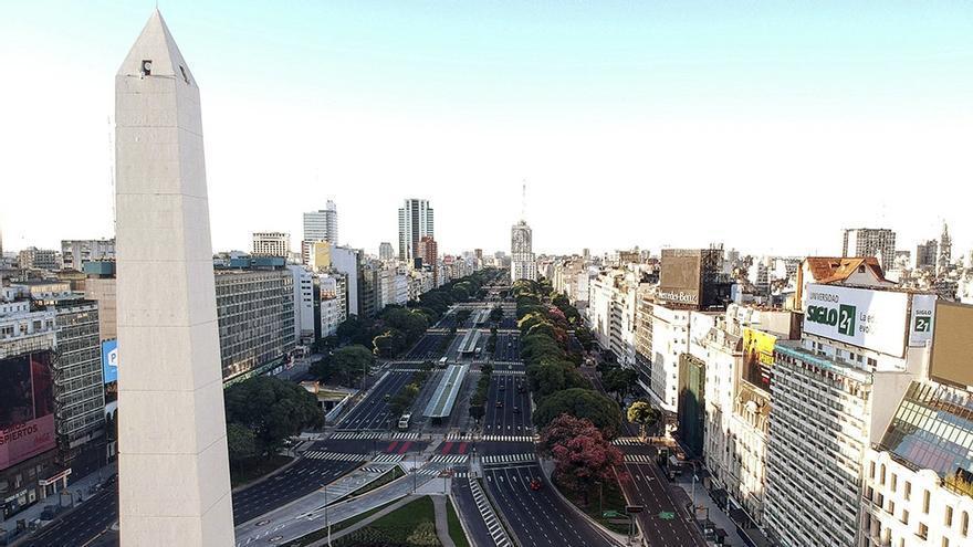 En quince años se construyeron 30 millones de metros cuadrados de inmuebles, estadios, centros de convenciones en la ciudad de Buenos Aires.