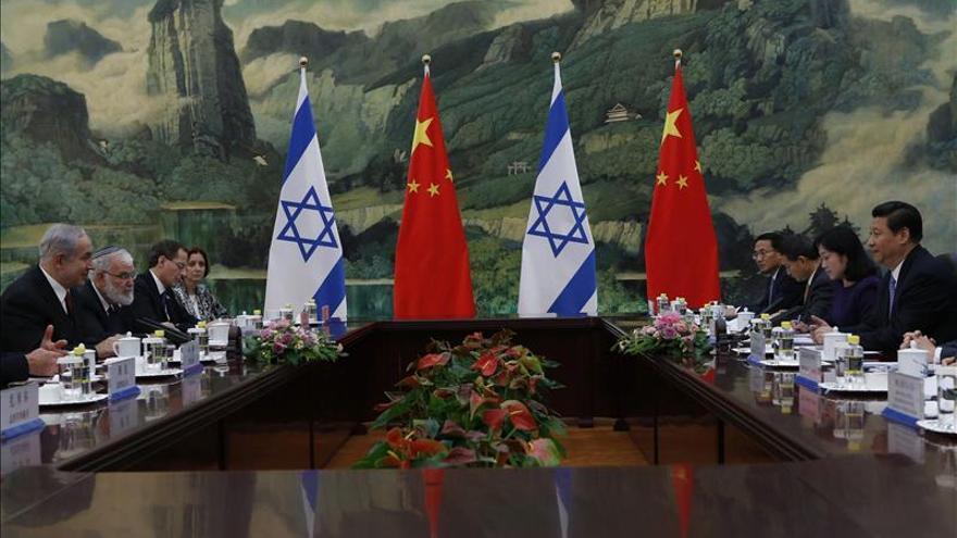Xi Jinping se reúne con el primer ministro israelí en Pekín