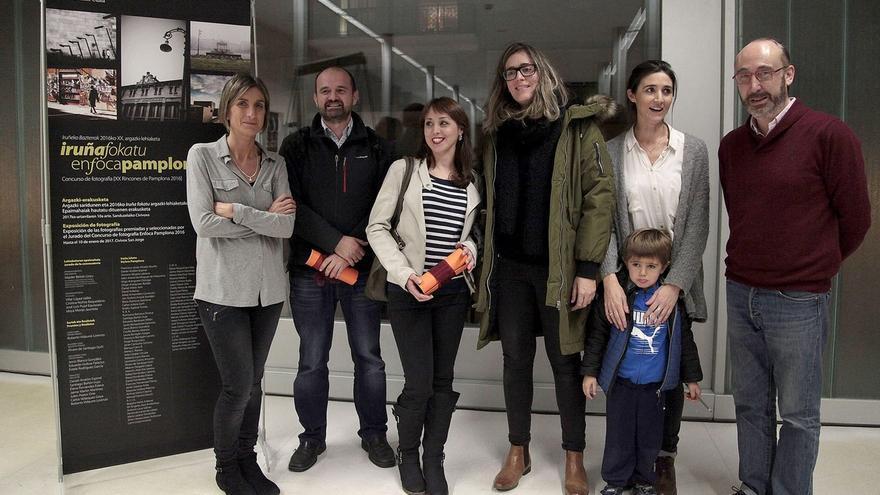 Una fotografía de la plaza Julio Altadill en Mendebaldea, obra de Roberto Vidaurre, gana el concurso Enfoca Pamplona