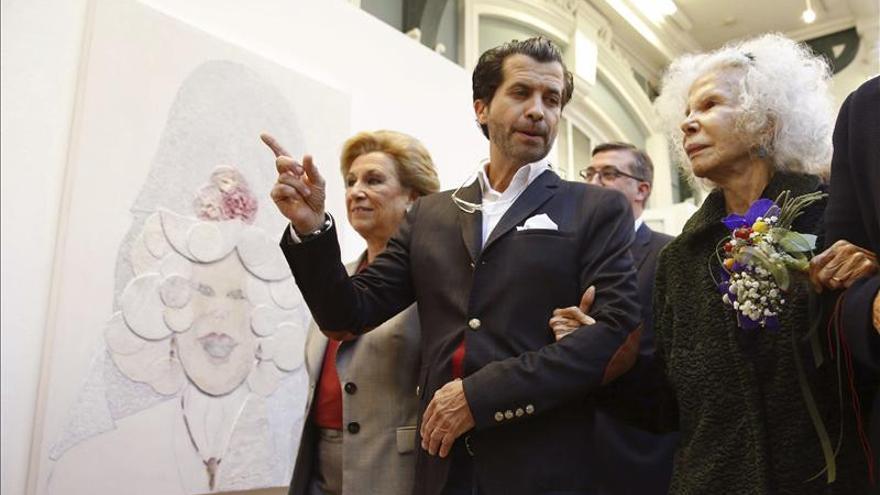 Marín elogia a Alberto Romero por la exposición sobre la Duquesa de Alba