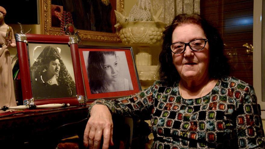 Basilisa Millán se pasó tres años sin salir de casa tras la muerte de su madre.