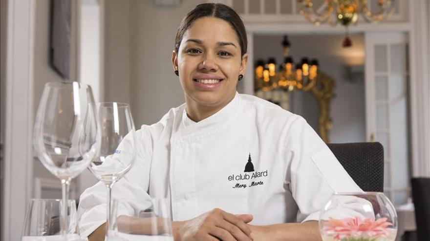 María Marte, de Club Allard (Madrid), Premio Nacional al Mejor Jefe de Cocina