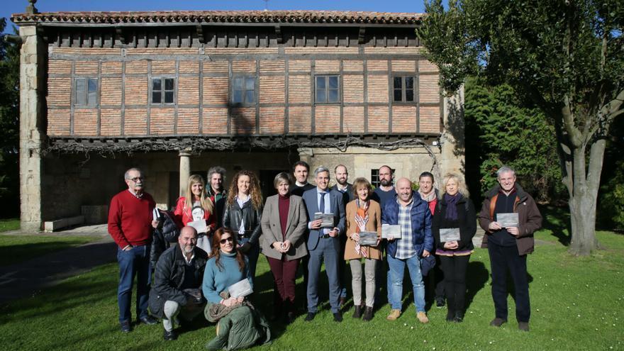 La presentación se ha celebrado en el Museo Etnográfico de Cantabria en Muriedas.
