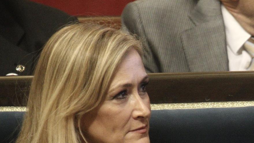 """Cifuentes cree que Aguirre debe estar """"muy arrepentida"""" por confiar en personas que la """"engañaron"""""""