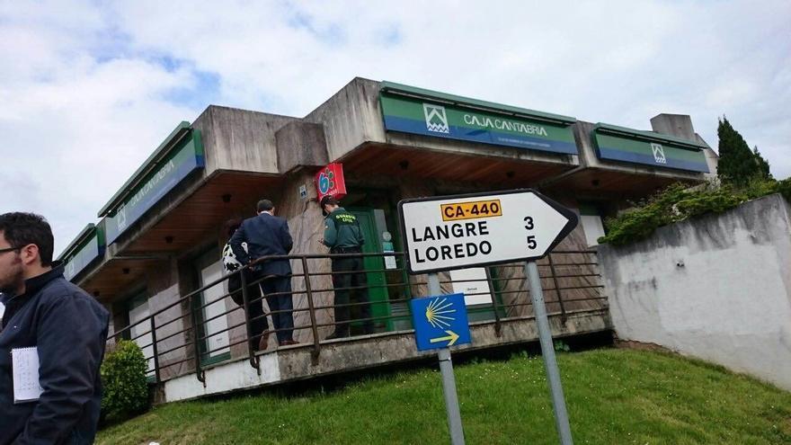 UGT pide la convocatoria del Comité de Seguridad y Salud de Liberbank tras el atraco a la sucursal de Galizano