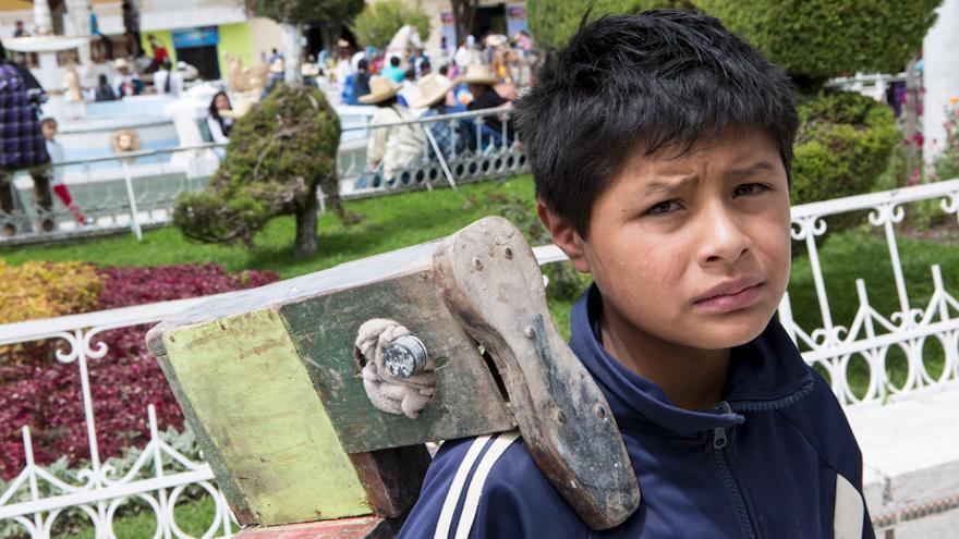 152 millones de niños y niñas son víctimas de trabajo infantil. Foto: Salva Campillo/AeA