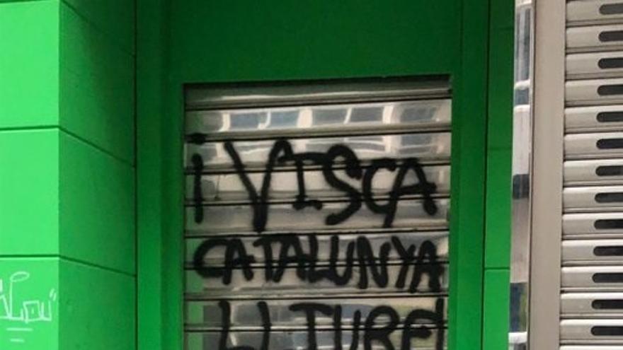 Vox denuncia ante la Policía actos vandálicos en su nueva sede de Cuenca