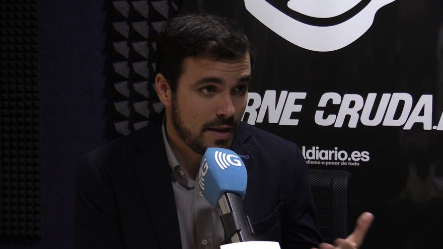 Alberto Garzón en Carne Cruda