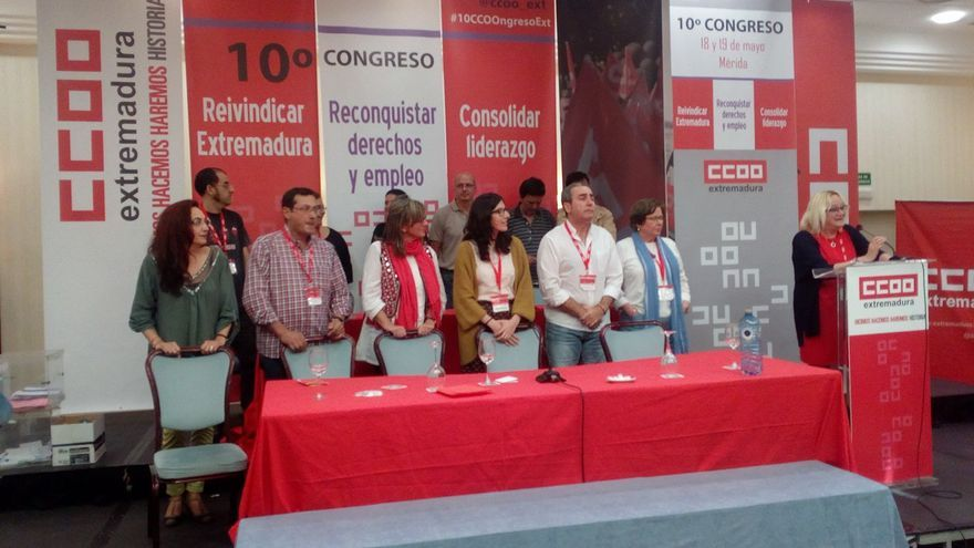 Ejecutiva regional CCOO Extremadura