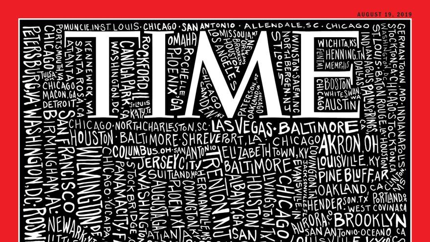 Portada de la revista Time del 8 de agosto de 2019.