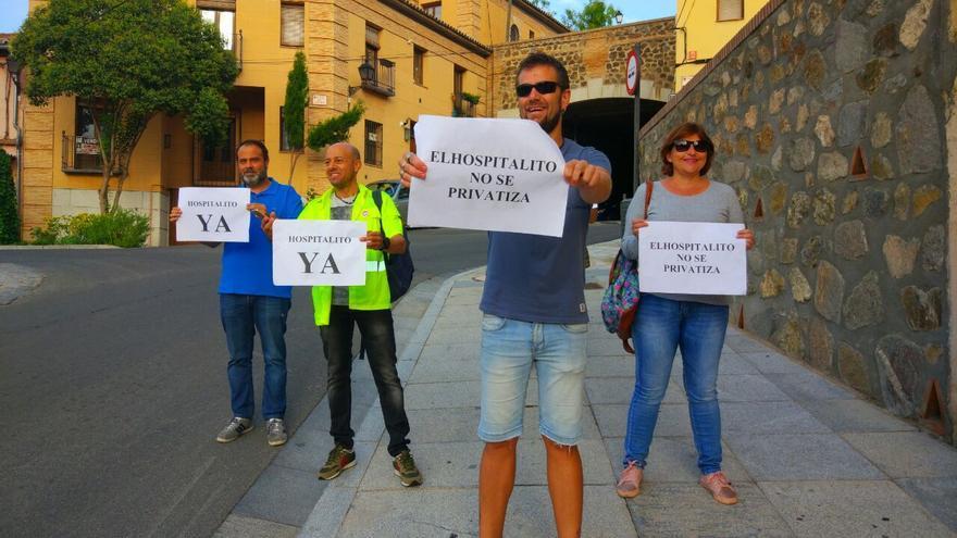 Movimiento 'Hospitalito Ya', hoy a las puertas de las Cortes de Castilla-La Mancha