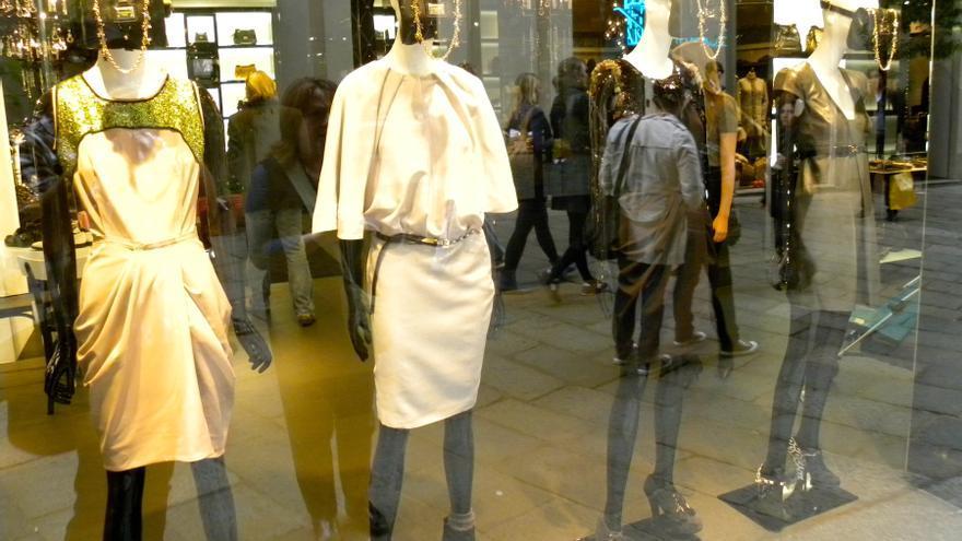 La via della Spiga es una de las cuatro que forman en cuadrilátero de la moda milanés / Jason Paris