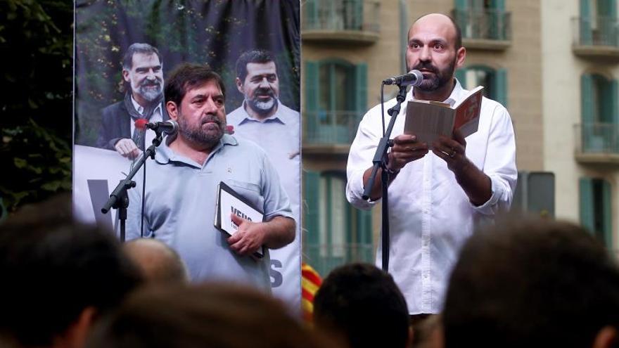 """Los Jordis piden """"no renunciar a la libertad"""" sea cual sea la sentencia"""