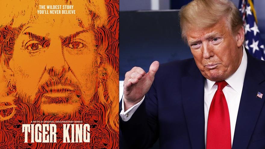 Plantean a Donald Trump que revise el caso de Joe Exotic tras la emisión de 'Tiger King'