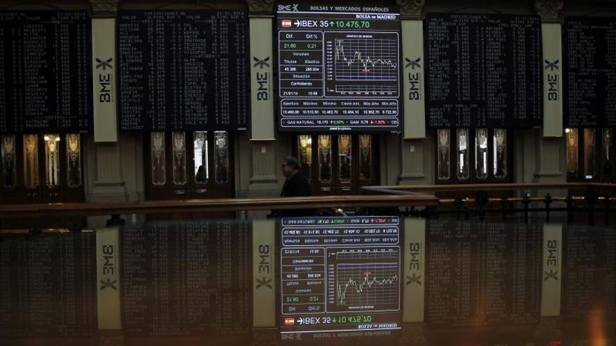 La bolsa española sube el 1,66 por ciento tras la apertura a la espera de la Fed